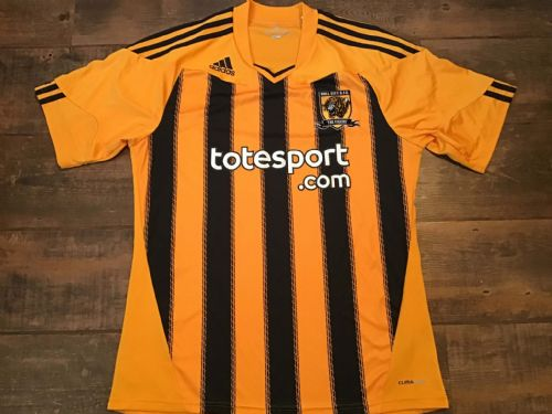 2010 2011 Hull City Home Football Shirt Adults Large
